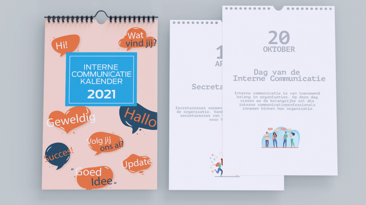 Interne Communicatiekalender 2021